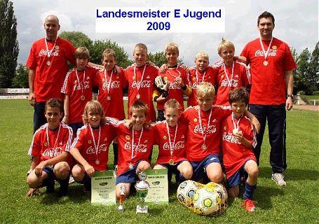 Landesmeister E Jugend 2009